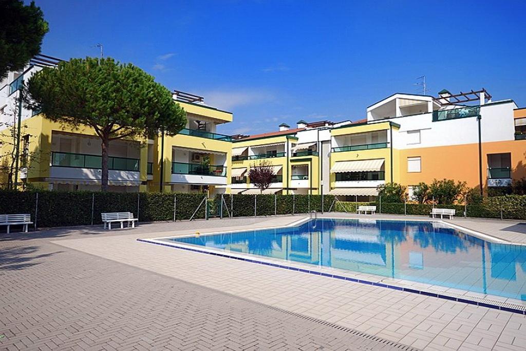 Condominio Residence Le Altane Bibione Lido Sole: Appartement Resicence Le Altane C 1-7, Unterkunft In